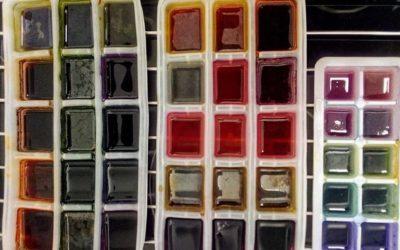 Création de couleurs de peinture